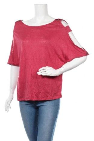 Дамска блуза BelAir, Размер M, Цвят Розов, 100% лен, Цена 29,67лв.