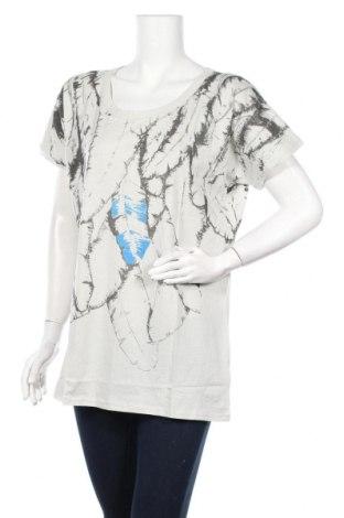 Дамска блуза BelAir, Размер S, Цвят Сив, Памук, Цена 25,37лв.