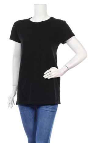 Дамска блуза BelAir, Размер M, Цвят Черен, Лен, Цена 29,67лв.