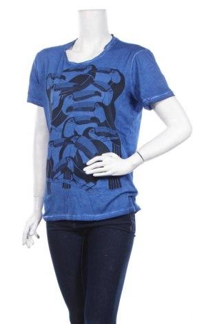 Γυναικεία μπλούζα Best Mountain, Μέγεθος S, Χρώμα Μπλέ, 100% βαμβάκι, Τιμή 5,63€