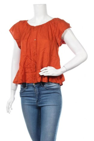 Дамска блуза Best Mountain, Размер M, Цвят Оранжев, 100% вискоза, Цена 16,77лв.