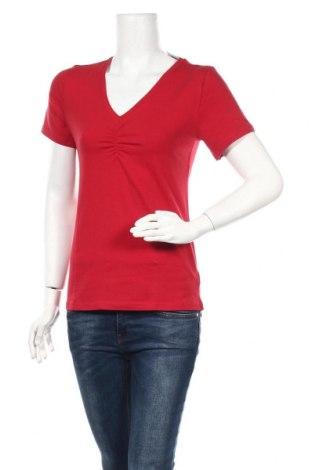 Γυναικεία μπλούζα Boysen's, Μέγεθος M, Χρώμα Κόκκινο, 95% βαμβάκι, 5% ελαστάνη, Τιμή 7,54€