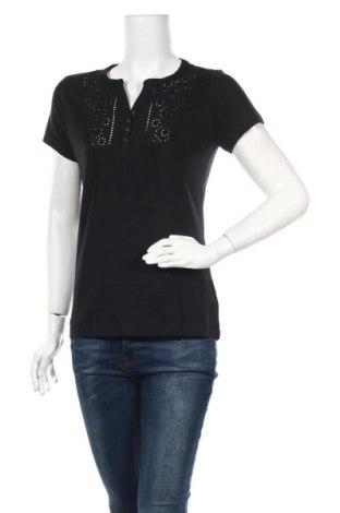 Γυναικεία μπλούζα Boysen's, Μέγεθος S, Χρώμα Μαύρο, Βαμβάκι, Τιμή 7,44€