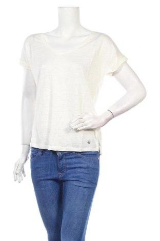 Γυναικεία μπλούζα Catwalk, Μέγεθος M, Χρώμα Εκρού, Λινό, Τιμή 7,07€