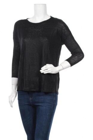 Дамска блуза Eleven Paris, Размер XS, Цвят Черен, Лен, Цена 24,15лв.