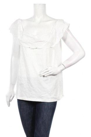 Дамска блуза Etam, Размер XL, Цвят Бял, Памук, Цена 17,00лв.
