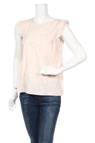 Дамска блуза Etam, Размер M, Цвят Розов, 52% лен, 48% вискоза, Цена 19,00лв.