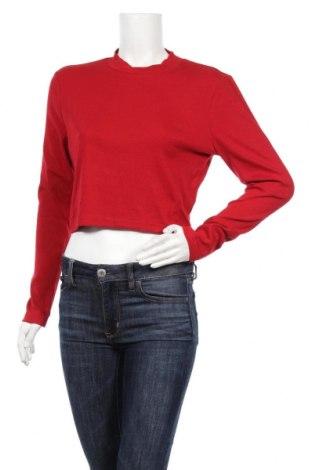 Дамска блуза Even&Odd, Размер XL, Цвят Червен, 95% памук, 5% еластан, Цена 13,32лв.