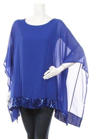 Γυναικεία μπλούζα Famous, Μέγεθος M, Χρώμα Μπλέ, 95% πολυεστέρας, 5% ελαστάνη, Τιμή 14,94€