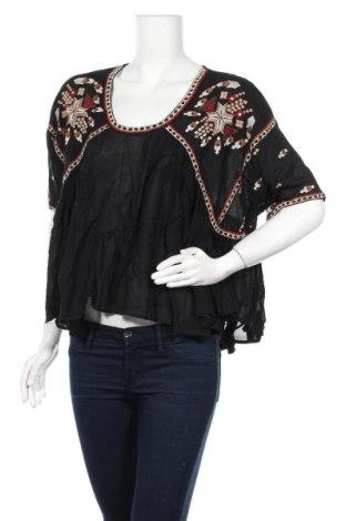 Γυναικεία μπλούζα French Connection, Μέγεθος XS, Χρώμα Μαύρο, 55% βισκόζη, 45% βαμβάκι, Τιμή 11,74€
