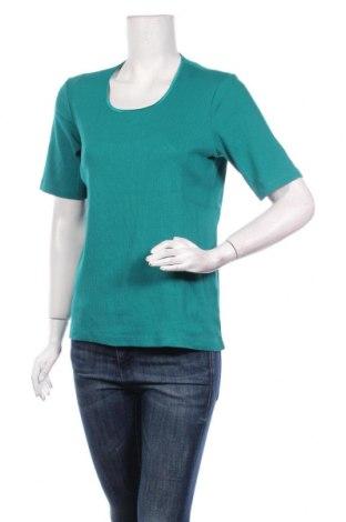 Γυναικεία μπλούζα Gina Laura, Μέγεθος M, Χρώμα Πράσινο, Τιμή 3,64€