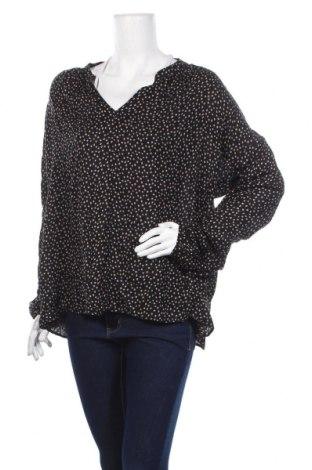 Дамска блуза Jacqueline Riu, Размер L, Цвят Черен, Вискоза, Цена 36,40лв.