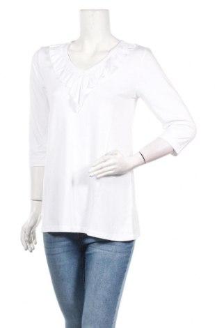Дамска блуза Laura Scott, Размер S, Цвят Бял, 95% вискоза, 5% еластан, Цена 14,96лв.