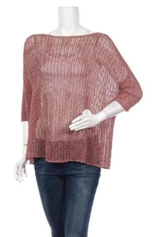 Дамска блуза Lauren Vidal, Размер M, Цвят Червен, 54% памук, 20% полиестер, 16% полиамид, 4% вискоза, 4% други тъкани, 2% метални нишки, Цена 55,30лв.