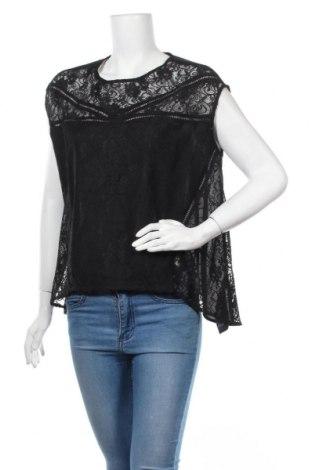 Дамска блуза Le Temps Des Cerises, Размер S, Цвят Черен, 97% полиестер, 3% еластан, Цена 10,08лв.