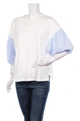 Дамска блуза Lft, Размер L, Цвят Бял, Памук, Цена 23,80лв.