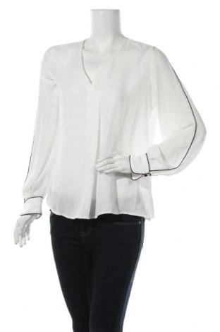 Дамска блуза Mango, Размер L, Цвят Бял, 100% полиестер, Цена 28,50лв.