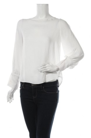 Дамска блуза Mango, Размер S, Цвят Бял, 100% полиестер, Цена 29,40лв.