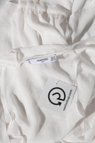 Дамска блуза Mango, Размер S, Цвят Бял, 100% полиестер, Цена 31,50лв.