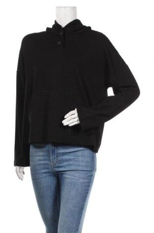 Дамска блуза Massimo Dutti, Размер L, Цвят Черен, 73% вискоза, 24% полиестер, 3% еластан, Цена 43,40лв.