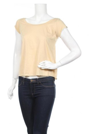 Γυναικεία μπλούζα Motivi, Μέγεθος S, Χρώμα  Μπέζ, Βαμβάκι, Τιμή 7,07€
