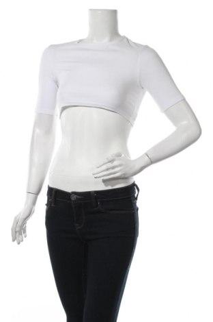 Γυναικεία μπλούζα Nasty Gal, Μέγεθος XXS, Χρώμα Λευκό, 95% πολυεστέρας, 5% ελαστάνη, Τιμή 5,32€