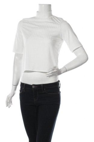 Дамска блуза Nasty Gal, Размер XS, Цвят Бял, 95% полиестер, 5% еластан, Цена 12,47лв.