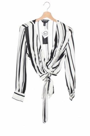 Дамска блуза New Look, Размер M, Цвят Черен, Вискоза, Цена 27,30лв.
