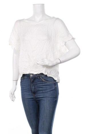 Γυναικεία μπλούζα Oysho, Μέγεθος M, Χρώμα Εκρού, 100% βισκόζη, Τιμή 4,98€