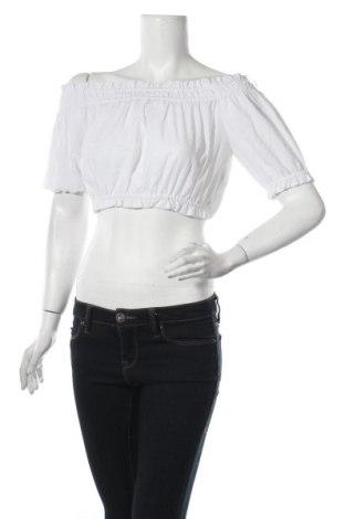 Γυναικεία μπλούζα Oysho, Μέγεθος M, Χρώμα Λευκό, 60% πολυεστέρας, 40% βαμβάκι, Τιμή 4,51€