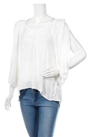 Γυναικεία μπλούζα Oysho, Μέγεθος M, Χρώμα Λευκό, 67% βισκόζη, 33% μοντάλ, Τιμή 6,46€
