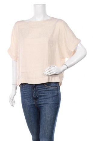 Дамска блуза Oysho, Размер XS, Цвят Бежов, Полиестер, Цена 9,24лв.
