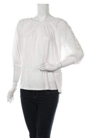 Дамска блуза Pedro Del Hierro, Размер L, Цвят Бял, Полиестер, Цена 46,80лв.