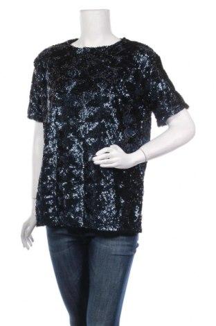 Дамска блуза Pimkie, Размер M, Цвят Син, Полиестер, Цена 21,00лв.