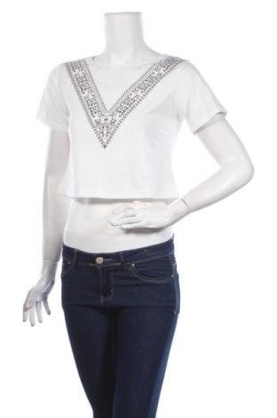 Γυναικεία μπλούζα Pretty Summer, Μέγεθος M, Χρώμα Λευκό, Τιμή 7,05€