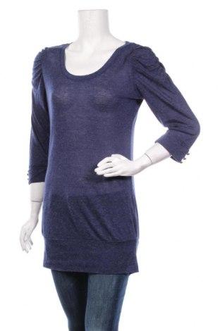 Дамска блуза Reserved, Размер L, Цвят Син, Цена 18,90лв.