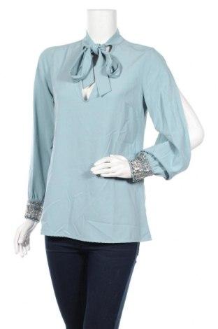 Γυναικεία μπλούζα TWINSET, Μέγεθος M, Χρώμα Μπλέ, 96% πολυεστέρας, 4% ελαστάνη, Τιμή 23,25€