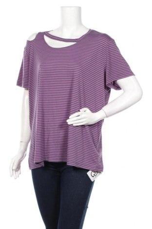 Дамска блуза Xersion, Размер XXL, Цвят Лилав, 65% полиестер, 35% вискоза, Цена 24,00лв.