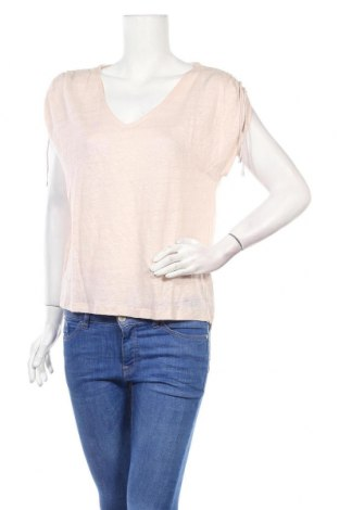 Дамска блуза Zapa, Размер S, Цвят Розов, 100% лен, Цена 49,05лв.