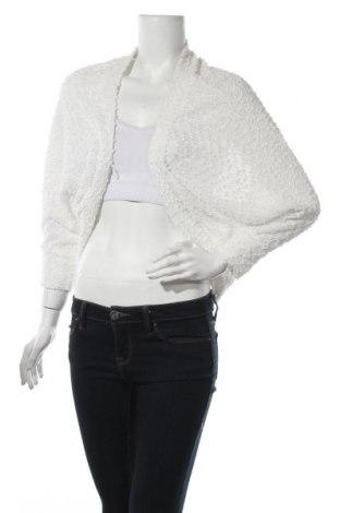 Γυναικεία ζακέτα Clockhouse, Μέγεθος M, Χρώμα Λευκό, Πολυεστέρας, Τιμή 4,22€