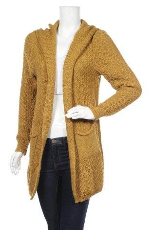 Дамска жилетка In&Dit, Размер M, Цвят Жълт, 65% акрил, 35% вълна, Цена 44,80лв.