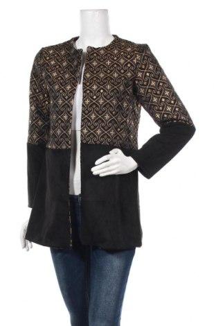 Дамска жилетка Italian Style, Размер L, Цвят Черен, 95% полиестер, 5% еластан, Цена 37,80лв.