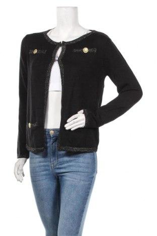 Дамска жилетка Longboard, Размер M, Цвят Черен, 50% акрил, 50% памук, Цена 41,30лв.