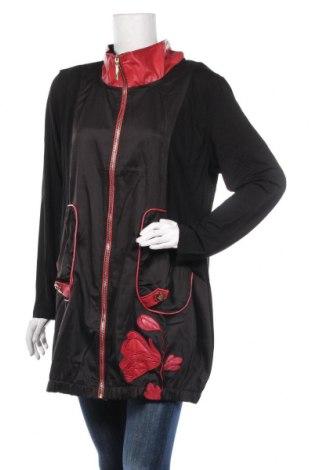 Дамска жилетка Pomme Rouge, Размер XL, Цвят Черен, 98% полиестер, 2% еластан, Цена 39,20лв.