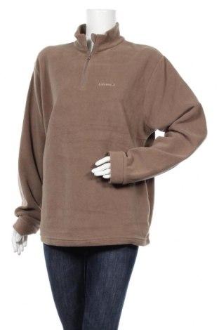 Дамска поларена блуза Lafuma, Размер XL, Цвят Зелен, Полиестер, Цена 14,33лв.