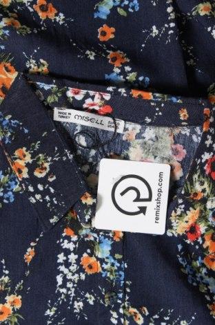 Дамска риза, Размер S, Цвят Син, Вискоза, Цена 20,88лв.