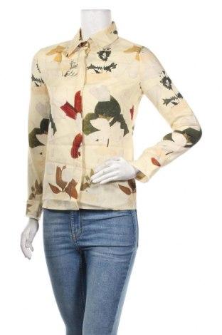 Дамска риза Cacharel, Размер XS, Цвят Бежов, Вълна, Цена 122,85лв.