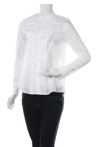 Дамска риза Cacharel, Размер S, Цвят Бял, Памук, Цена 122,85лв.