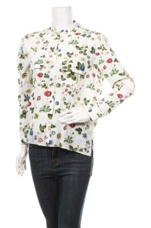 Дамска риза Cacharel, Размер M, Цвят Бял, Коприна, Цена 122,85лв.