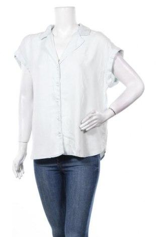 Дамска риза Camaieu, Размер XL, Цвят Син, Лиосел, Цена 28,60лв.